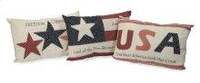 Patriotic Pillows - Set of 3