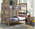 Bunk Bed Taupe Gray Product Image