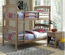 Bunk Bed Taupe Gray