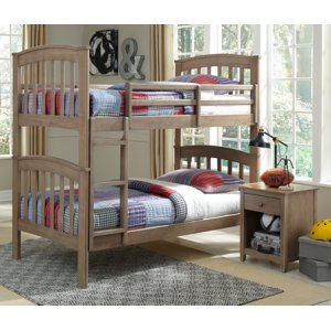 JOHN THOMAS FURNITUREBunk Bed Taupe Gray