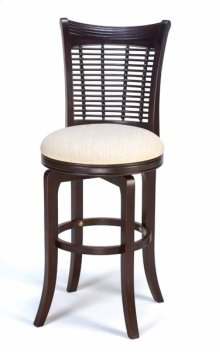 Bayberry Swivel Barstool - Dark Cherry