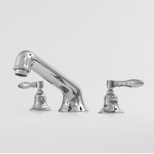 1500 Series Roman Tub Set with Huntington Handle (available as trim only P/N: 1.152777T)