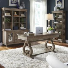 3 Piece Desk & Hutch Set