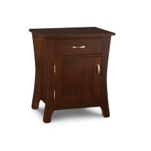 Yorkshire 1/Door 1/Drawer Night Stand with Power Management