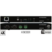 4K Enterprise AV over IP Encoder, PoE, HDMI Pass-Thru, 2x IR/RS-232 ports - Shipping Q3 2019