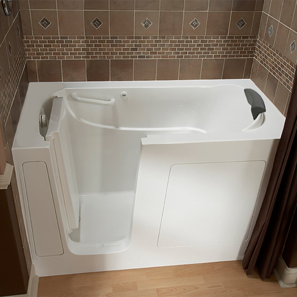 Premium Series 30x60 Walk In Bathtub, Left Drain American Standard   Linen