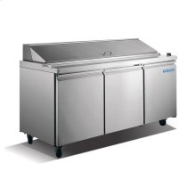 3 Door Stainless Steel Sandwich/Salad Prep Table