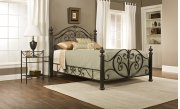 Grand Isle Queen Bed Set W/rails Product Image