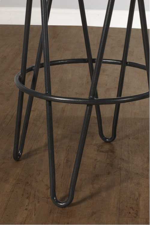 Dunaway Metal Backless Non Swivel Counter Stool