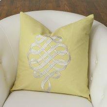Scroll Pillow-Citrus