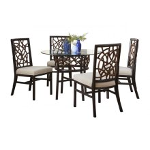 Trinidad 6 PC Dining Set w/cushion