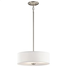Shailene Collection Shailene 3 Light Semi Flush NI
