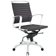 Tempo Mid Back Office Chair in Brown