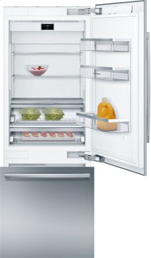 """Benchmark® Benchmark®, 30"""" Built-in Two Door Bottom Freezer Refrigerator with Home Connect, B30BB930SS, Stainless Steel Panel"""