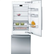 "Benchmark® Benchmark®, 30"" Built-in Two Door Bottom Freezer Refrigerator with Home Connect, B30BB930SS, Stainless Steel Panel"