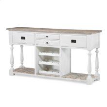Catania Sideboard with Wine Rack