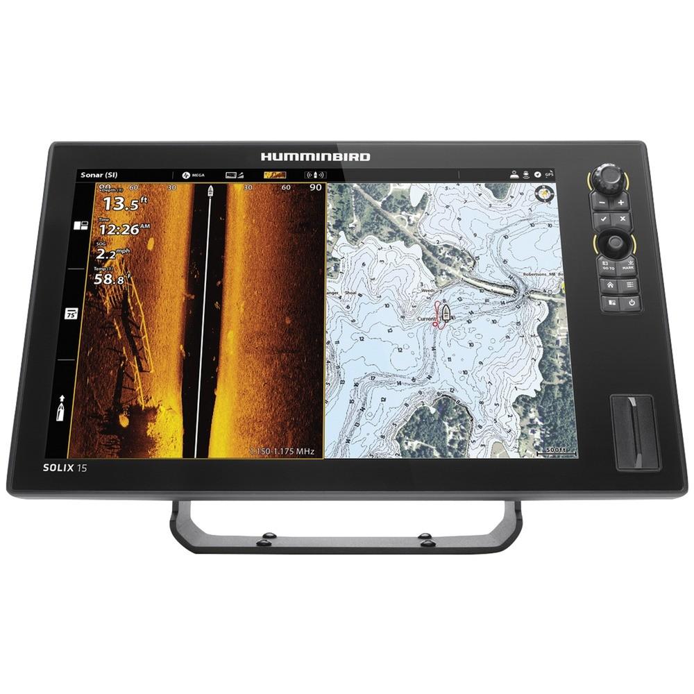 SOLIX(R) 15 CHIRP MEGA SI+ GPS G2 Fishfinder with Bluetooth(R) & Ethernet