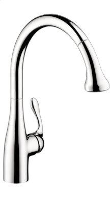 Chrome Semi-Pro Kitchen Faucet, 2-Spray Pull-Down, 1.75 GPM