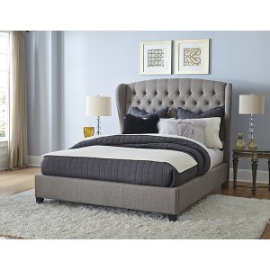 Bromley Queen Bed Set - Rails Included