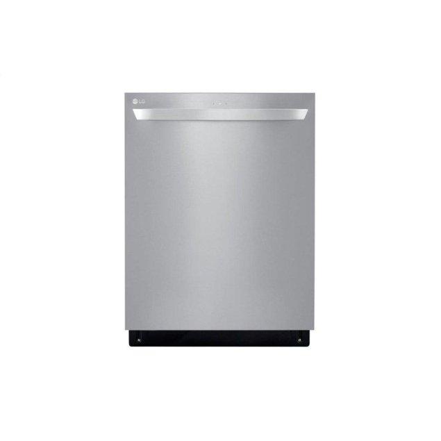 LG Appliances Top Control Smart wi-fi Enabled Dishwasher with QuadWash™
