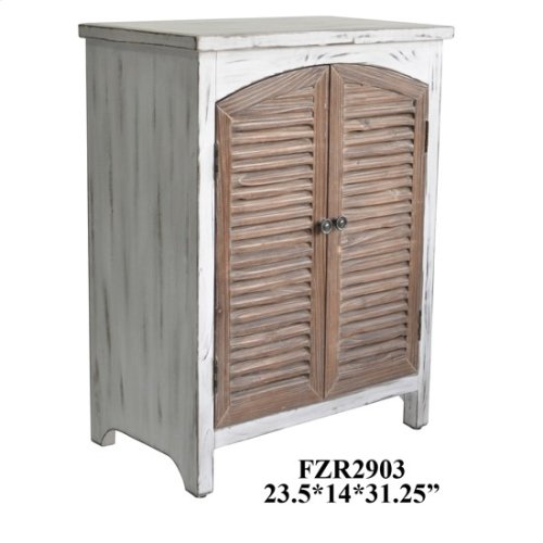 """23.5X14X31.25"""" WOODEN CABINET, 1 PC PK, 8.58'"""