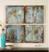 Accent Tiles Hand Painted Canvases,