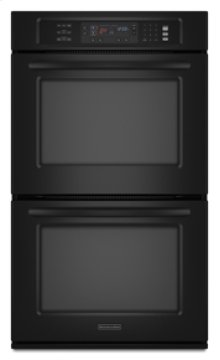 "Double Oven 30"" Width 4.3 cu. ft. Capacity Even-Heat™ True Convection System in Upper Oven Architect® Series II"