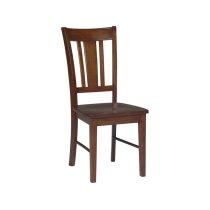 San Remo Desk Chair in Espresso Product Image