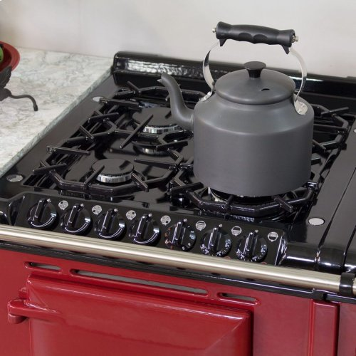 Black AGA Integrated Dual Fuel Module NG