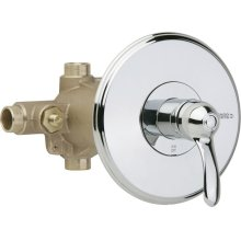 Thermostatic Pressure Balancing Tub and Shower Valve with Trim
