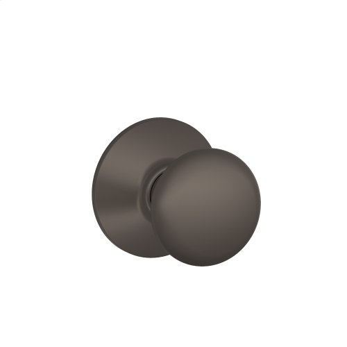 Plymouth Knob Hall & Closet Lock - Oil Rubbed Bronze