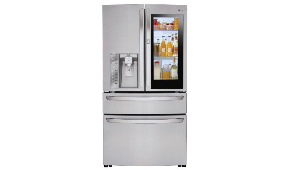 23 cu. ft. Smart wi-fi Enabled InstaView Door-in-Door(R) Refrigerator  STAINLESS STEEL