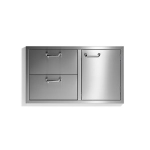 "Lynx36"" storage door & double drawer combo - Sedona by Lynx Series"
