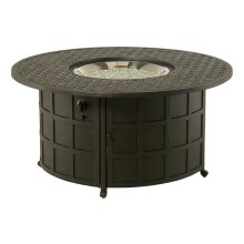 """Newport 48"""" Round Enclosed Gas Fire Pit Table"""