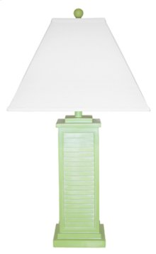 PR151-GR Shutter Table Lamp
