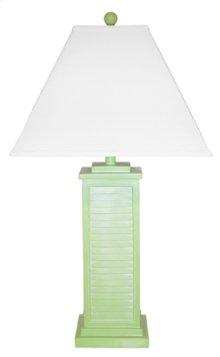 PR151-GR Shutter Table Lamp