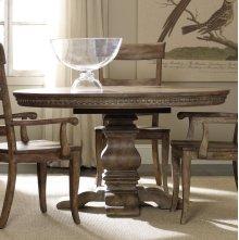 """Sorella Pedestal Dining Table w/1-20"""" leaf"""