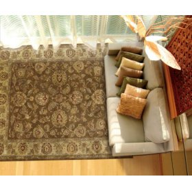 Jaipur Ja23 Brn Rectangle Rug 27'' X 18''