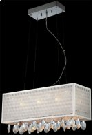 Crystal Ceiling Lamp, C/crystals, Jc/g4 20wx6 & LED 1wx8 Product Image