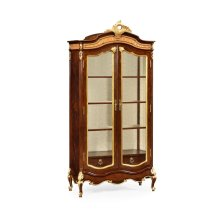 French Provincial Mahogany Armoire