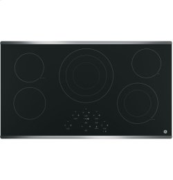 """GE® 36"""" Built-In Touch Control Electric Cooktop"""