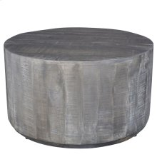 Eva Coffee Table in Distressed Grey