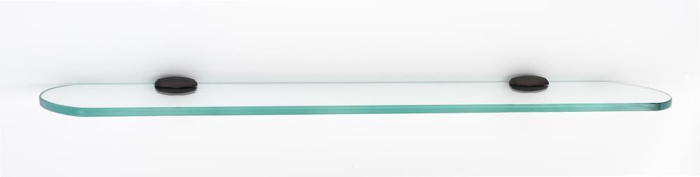 Royale Glass Shelf A6650-24 - Chocolate Bronze