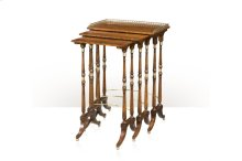 The South Drawing Room Nest of Tables - Morado