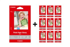 Canon Glossy Photo Paper 4x6 - 500 Sheets