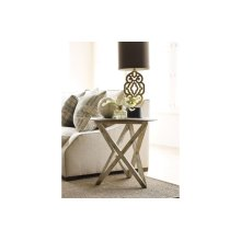 Colton Round Lamp Table