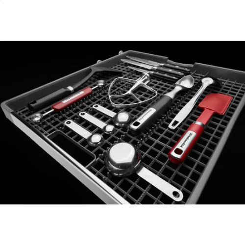 KitchenAid® 46 DBA Dishwasher with Third Level Rack - White