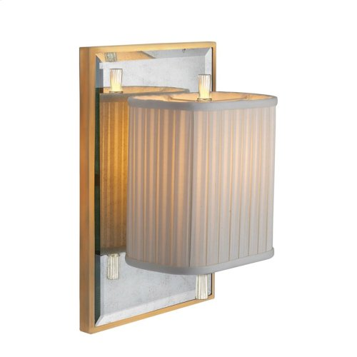 Visual Comfort BBL2016I/SS-S Barbara Barry Sunset Plaza 1 Light 9 inch Soft Silver Decorative Wall Light