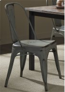 Bow Back Side Chair - Green Product Image
