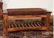 Sedona Bench W/ Cushion Seat